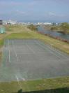 藻川河川敷テニスコート