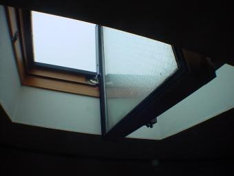 ロフト天窓写真