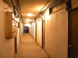 賃貸アパート 外観廊下